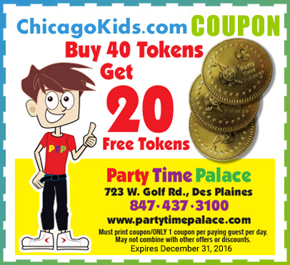 Party time palace coupons